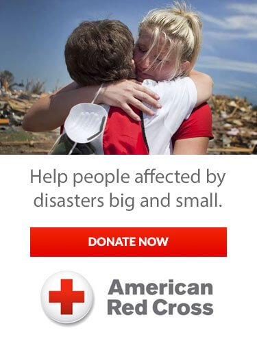 American Red Cross | Disaster Relief Donation Small